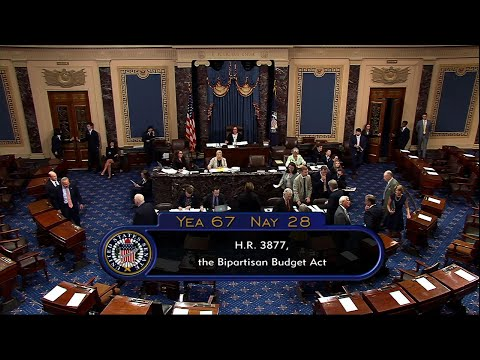 A bipartisan budget and debt deal has passed the Senate and is heading to the White House for President Donald Trump's signature. (Aug. 1)