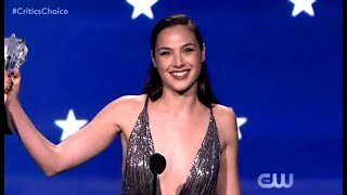 Download Youtube: Gal Gadot Receives The #SeeHer Award (Critics Choice 2018)