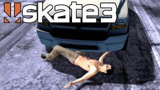 Skate 3 - Car Accident [Playstation 3 Gameplay]