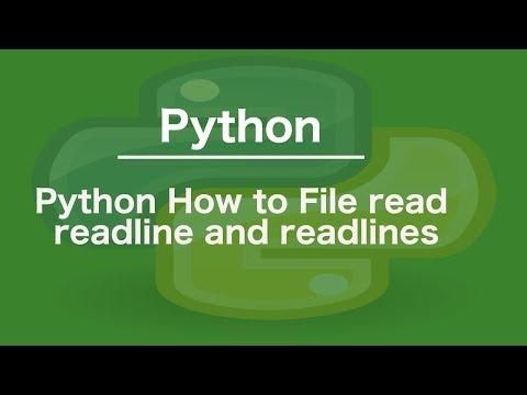 mp4 Python Readline, download Python Readline video klip Python Readline