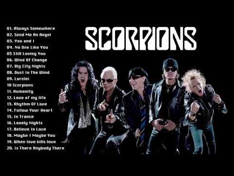Scorpions Gold Album - The Best Of Scorpions - Scorpions Greatest Hits Full Album