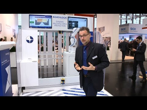 Datalogic LIVE @SPS IPC Drives 2018 | New LASER SENTINEL Stand Alone