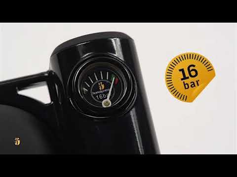 Handpresso Pump Noire 48238 Machine expresso portable et manuelle à dosette ESE ou café moulu