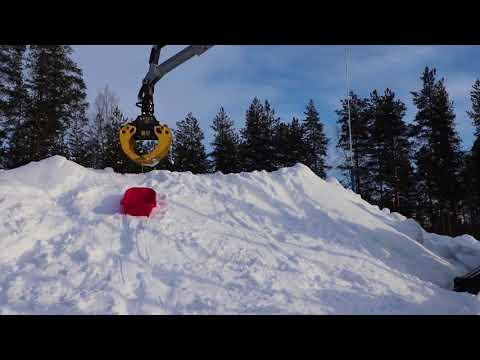 KESLA tractor attachments: Sledging