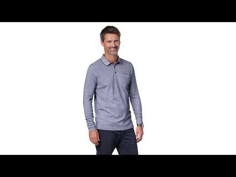 Daniel Hechter Polohemd langarm - 236.661 | Personalshop