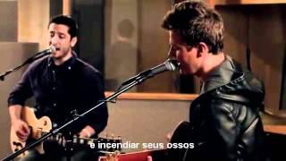 Fix you - Coldplay Boyce Avenue & Tyler Ward (Legendado Pt)