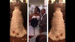 TN~Bride Who Drug Her Baby Down The Aisle Speaks Out Says Jesus Had Her Back