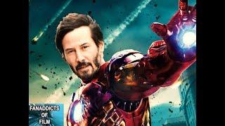 Keanu as Iron Man?