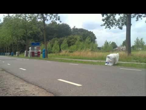 Historische wegrace op wegcircuit rondom Kasteel Aldendriel