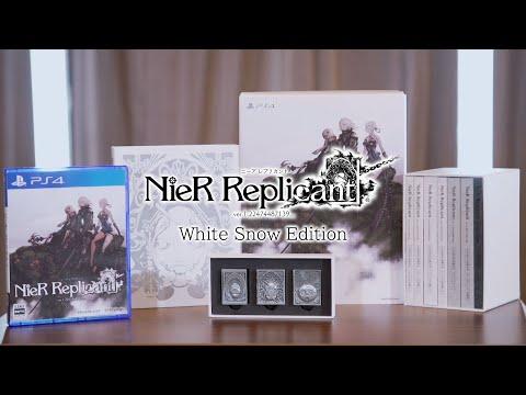 Unboxing de l'édition White Snow de NieR Replicant