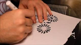 Beginners Flower Stencil