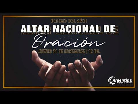 Altar Nacional de Oración | Jueves 31 de diciembre 2020