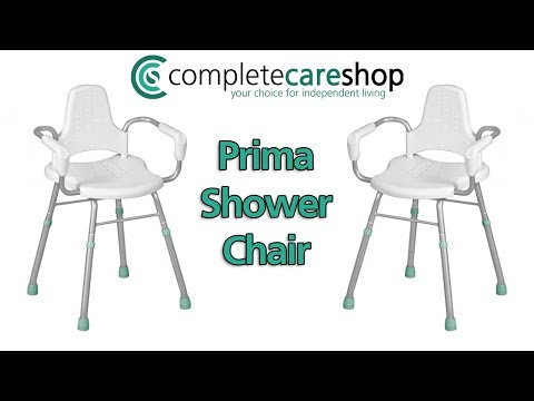 Prima Shower Chair Demonstration