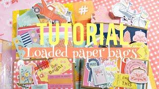 Loaded Paper Bags ✨🍑 Summer Pen Pal Idea