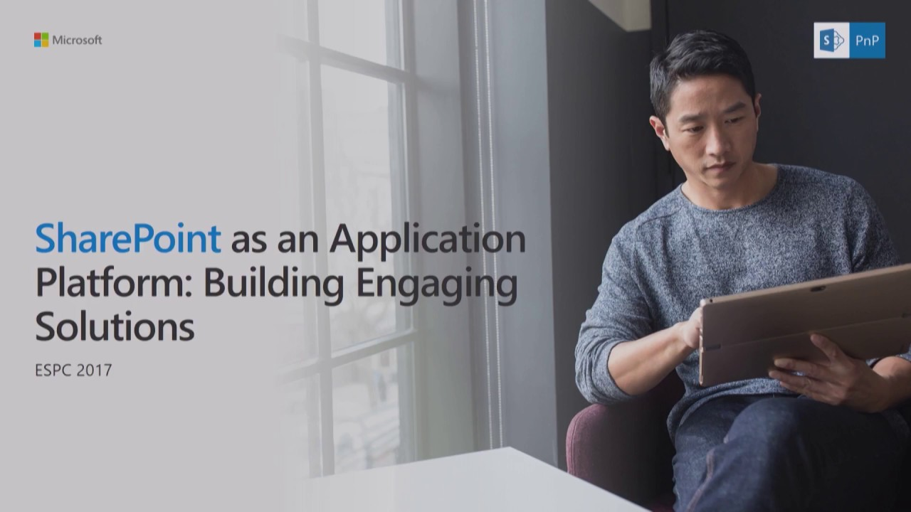 Keynote 4: SharePoint as an Application Platform: Building Engaging Solutions