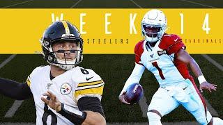 Week 14 Pittsburgh Steelers vs Arizona Cardinals   Kyler Murray & Devlin Hodges   PPS