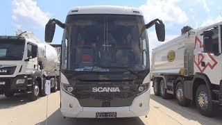 Scania Touring HD Bus (2018) Exterior and Interior