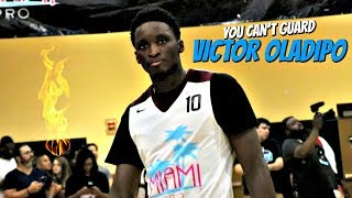 Victor Oladipo SHOWS OUT at Miami Pro Am! NBA's Most Improved Player