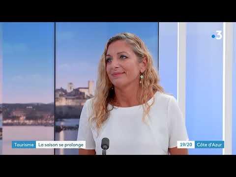 Claire Béhar, directrice générale du CRT Côte d'azur France fait le bilan de l'été