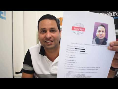 How I passed CompTIA Security+ Certification in 10 days ... - YouTube
