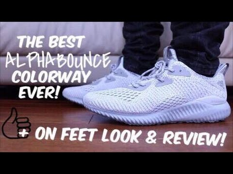 80d3b3d52 AMS 2.0 Alpha Bounce Clear Grey Review! Plus on Feet Look!