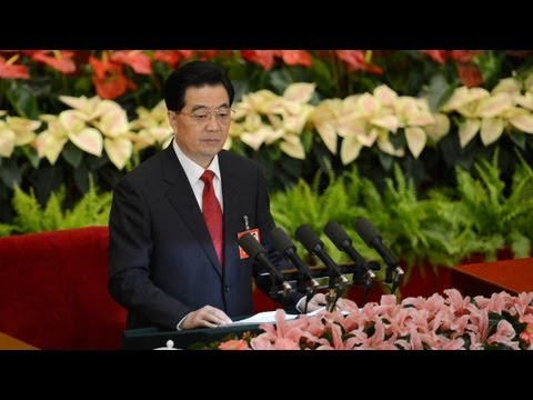 China's Hu Jintao issues warning