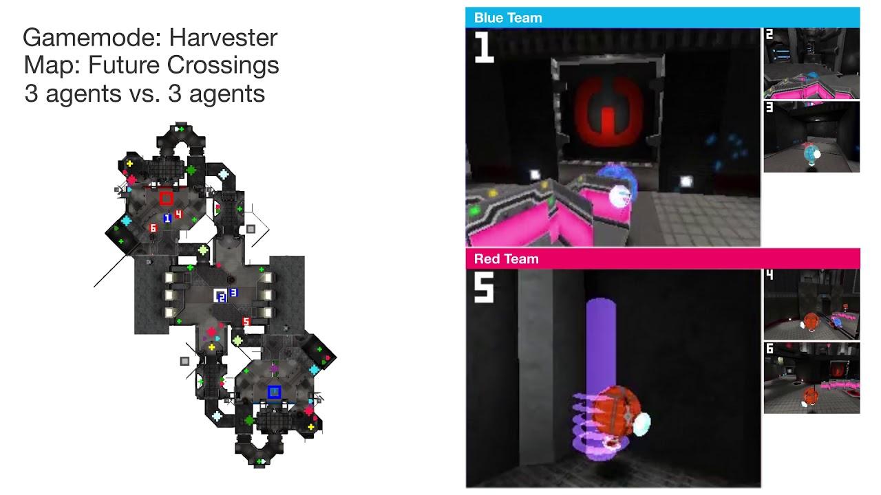 Искусственный интеллект DeepMind победил людей в Quake III Arena
