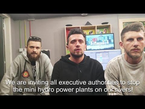 Video: KünstlerInnen für die Balkanflüsse - Compilation IV