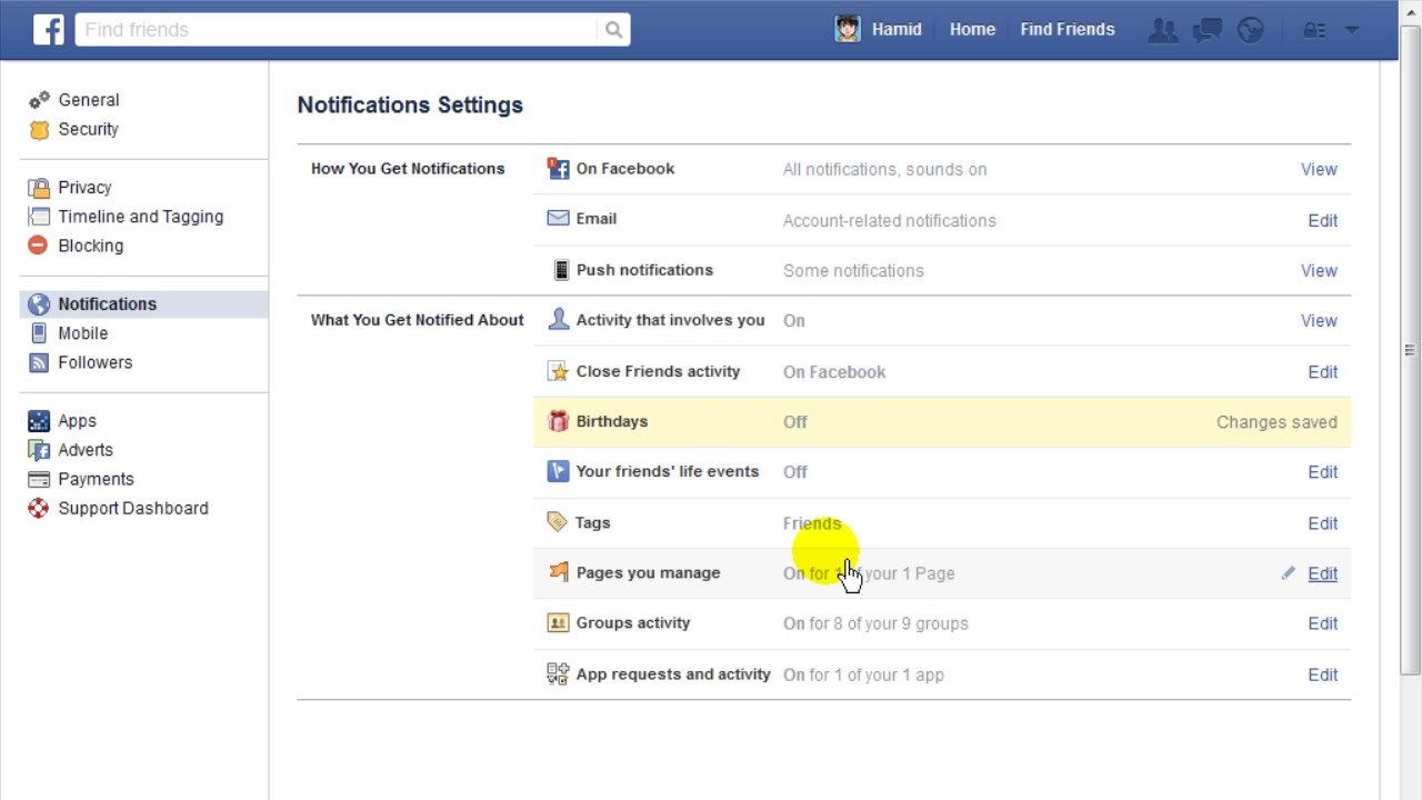 How to Turn Off Birthday Notifications on Facebook