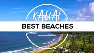Kauai, Hawaii Best Beaches   4K Drone Footage