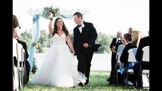 12x12 Wedding Album Spread Slideshow | Lake Wylie Wedding