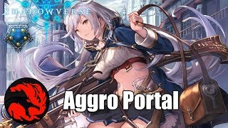 [Shadowverse] Ping Face  - Aggro PortalCraft Deck Gameplay