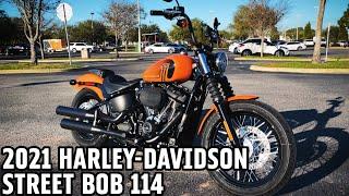 2021 Harley-Davidson FXBBS Street Bob 114 Baja Orange | Test Ride Review