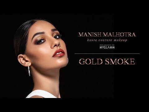 Manish Malhotra Beauty : Gold Smoke with Daniel Bauer