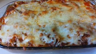 Cheesy Pasta Bake RECIPE | ThickChickCooks