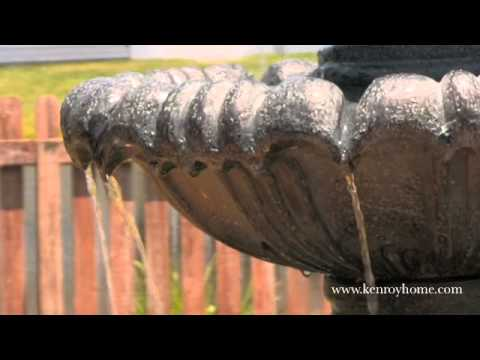 Video for Venitian Tiered Moss Outdoor Fountain