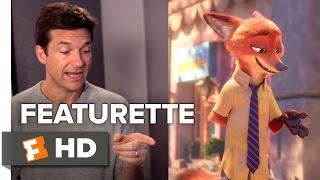 Zootopia Featurette - Cast and Characters (2016) - Jason Bateman, Ginnifer Goodwin Movie HD