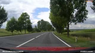 preview picture of video 'Austria (Österreich) B7 Schrick - Drasenhofen A/CZ x3'