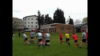 preview picture of video 'Hendon vs. Saracens Amateurs'