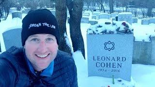 #890 LEONARD COHEN's Montreal Neighborhood Life - Jordan The Lion Daily Travel (1/13/19) plateau