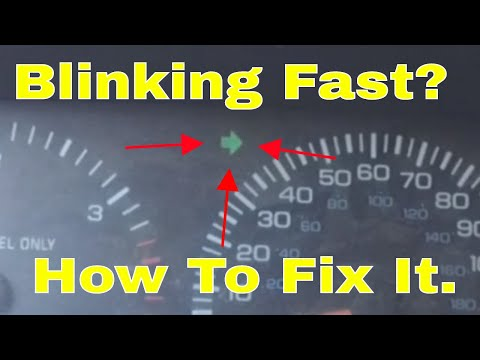 why is my turn signal blinking fast and how to fix it