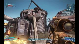 Borderlands 2 Playtrough pt. #13 - With Wolfnoise - Volleyball Vankers