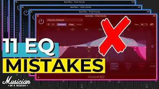 11 EQ MISTAKES | Use Best DAW Like A PRO