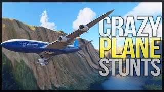 Landing A Plane In The Grand Canyon - Category 5 Hurricane Flight - Microsoft Flight Sim