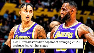 Kyle Kuzma Says He's STILL An ALL STAR… Lakers TRADE Incoming?