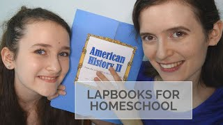 How To Use A Lapbook In YOUR Homeschool | What Lapbooking Is And A Peek Inside Sonlight Lapbook