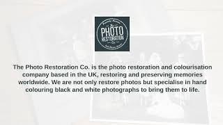 Excellent Photo Restoration Services