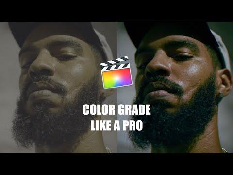 Final Cut Pro X Cinematic Color Grading Tutorial