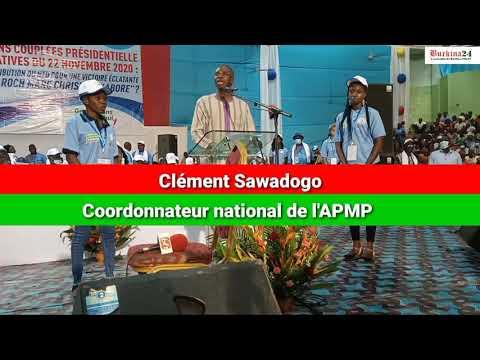 """""""Le président Rock Kaboré est et reste l'homme de la situation au Burkina Faso"""", Clément Sawadogo"""