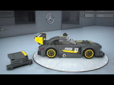 Vidéo LEGO Speed Champions 75877 : Mercedes-AMG GT3